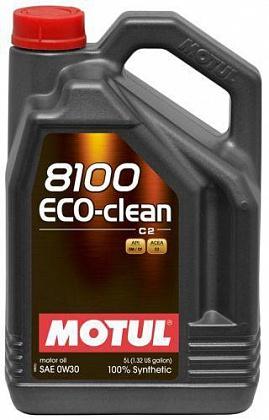 Variklio alyva Motul 8100 Eco Clean 0w30 5 l