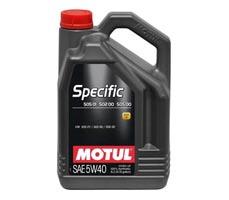 Sintetinė variklinė alyva MOTUL SPECIFIC 505 01-502 00 5 l